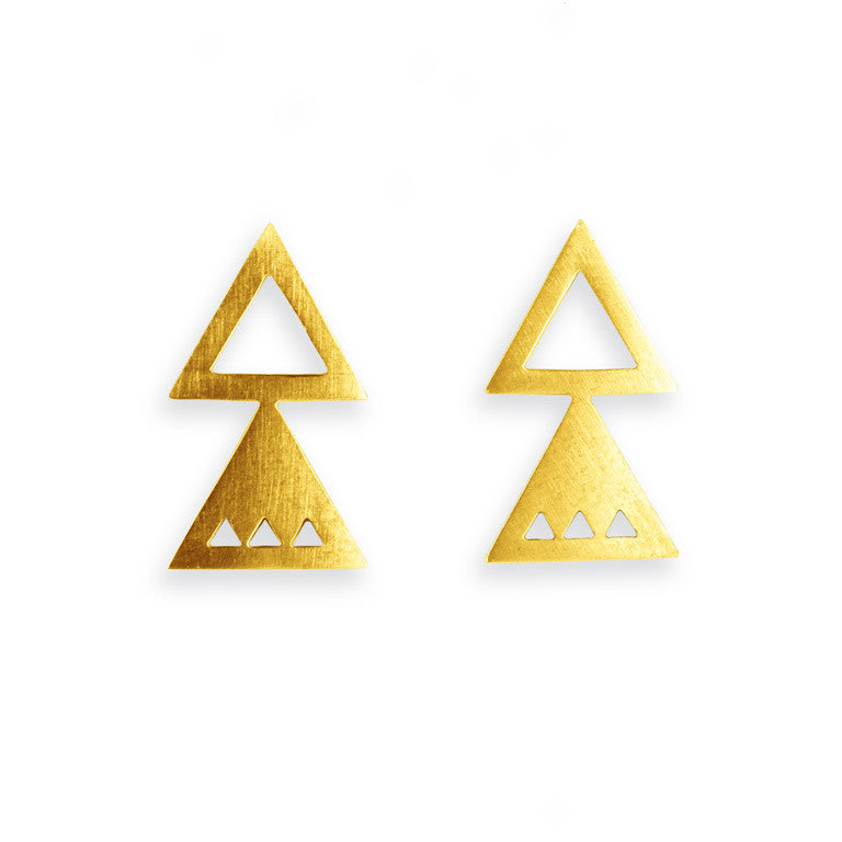 ATTIC EARRINGS GOLD