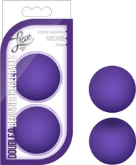 Double O Beginner Kegel Balls (Purple)