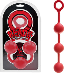 "Beads 14"" (Red)"