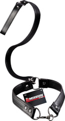 Collar With Leash (Black)