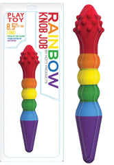 Rainbow Dildo - KNOB JOB