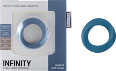 Infinity - XL Cockring (Blue)
