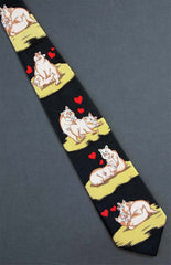 Naughty Pig Neck Tie