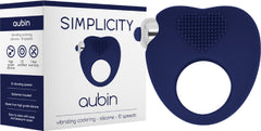 AUBIN Vibrating Cockring (Blue)