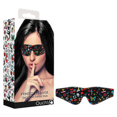 Ouch! Printed Eye Mask