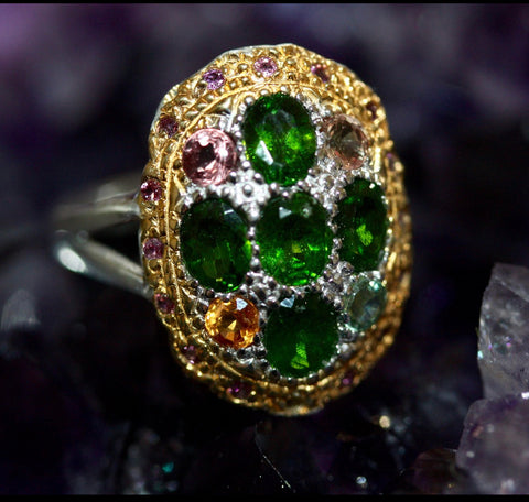 8ZZ- My Green Beauty Ring