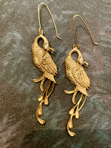 Regal Phoenix earrings