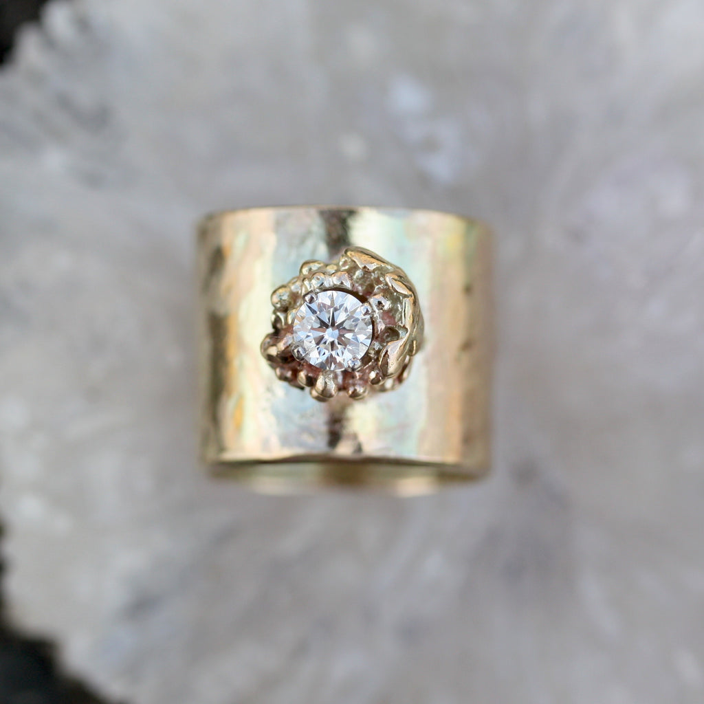 8R Vine Goddess RIng