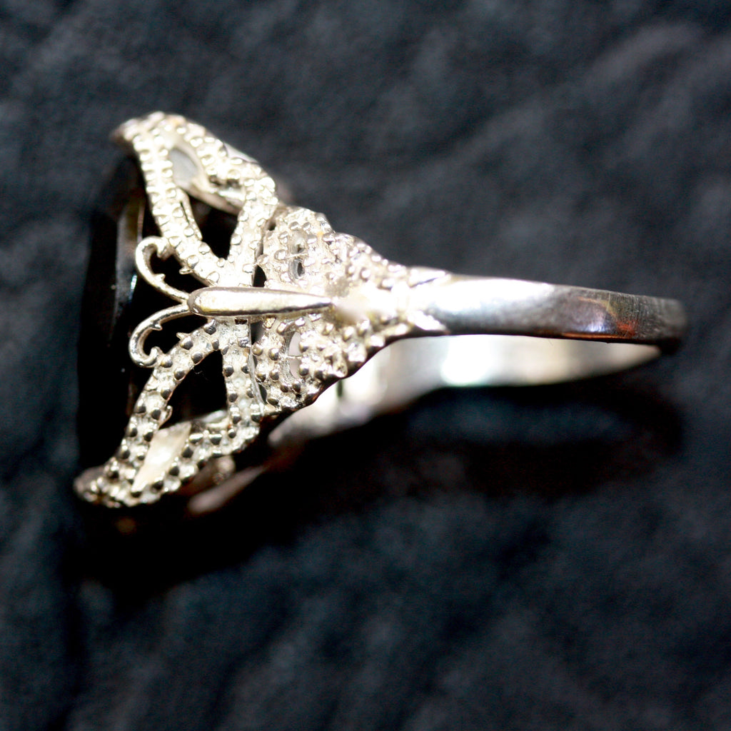 DAY 13 Butterfly Lace Delights Ring