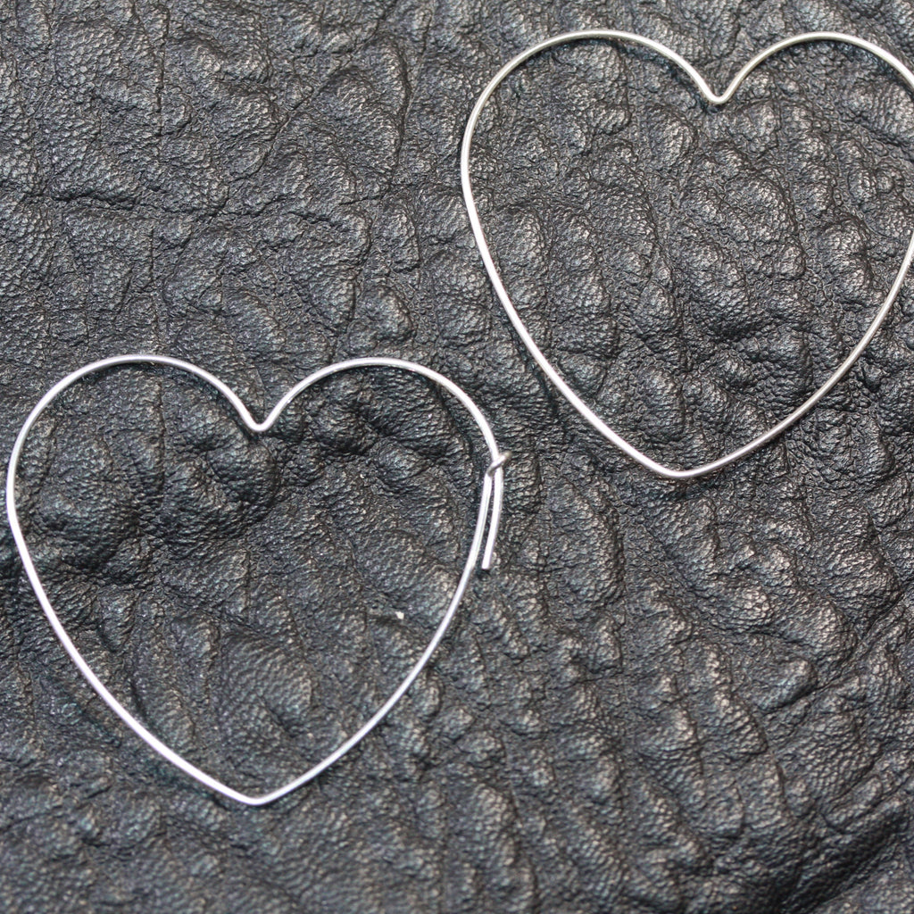 Day 15 - Heart ear wires  30 daily delights SALE earrings
