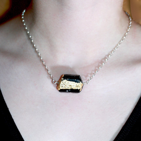 Day 29 Rock On Black Tourmaline Choker