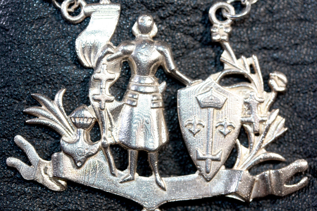 The Large Miss Joan of Arc Necklace