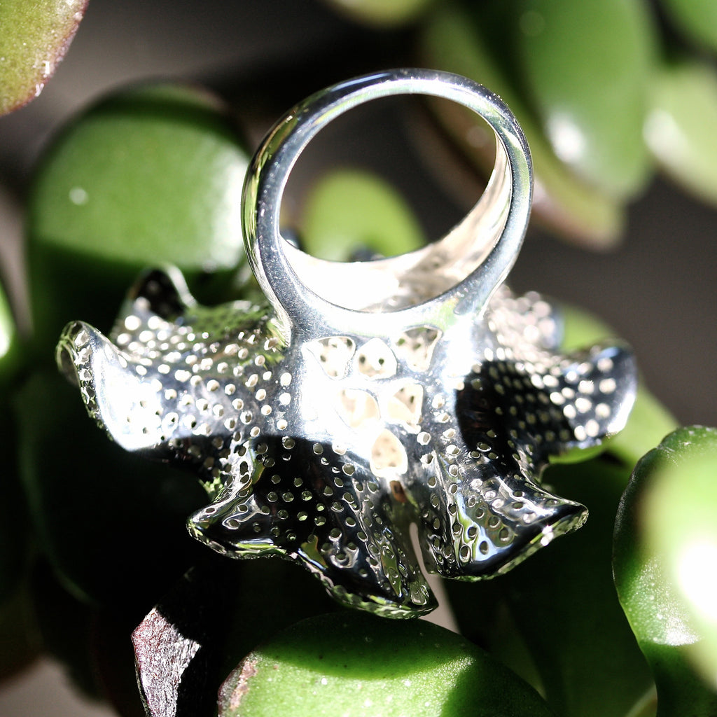 Brain Flower Ring