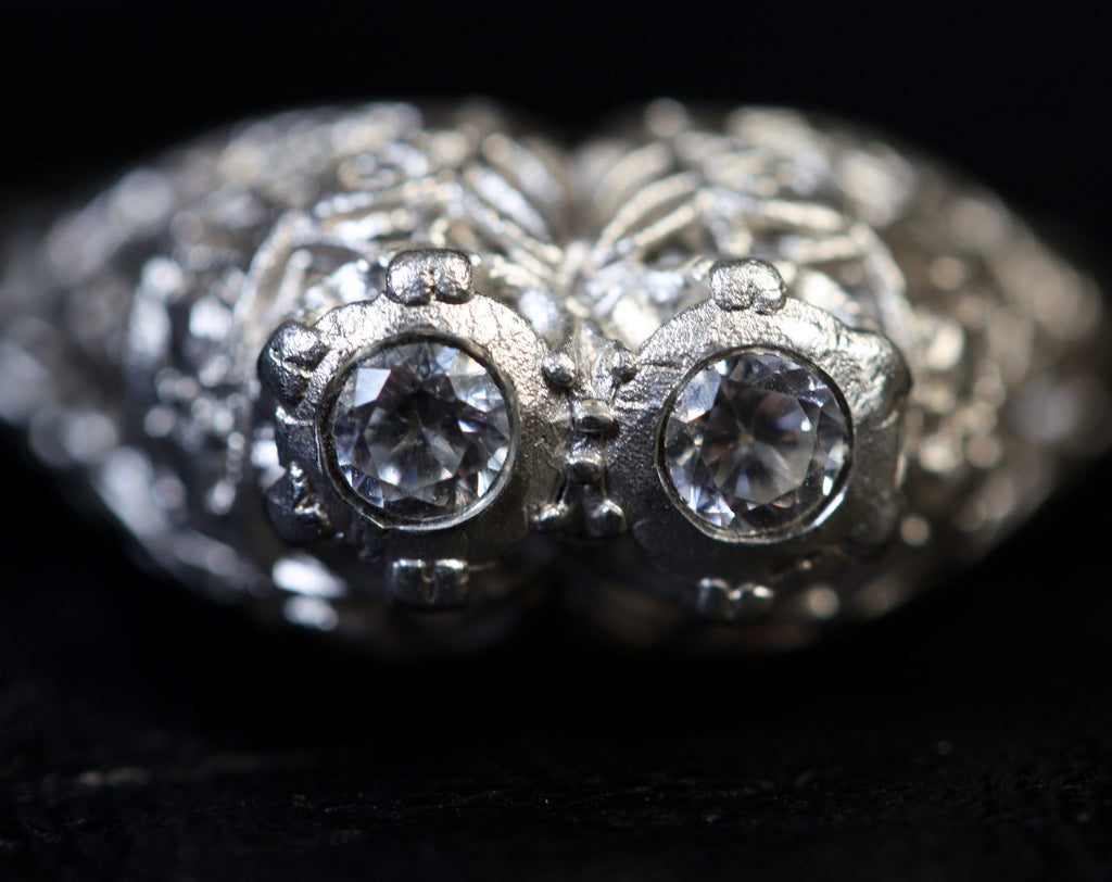 1 A Miss Silver Bygone Ring  Size L SALE
