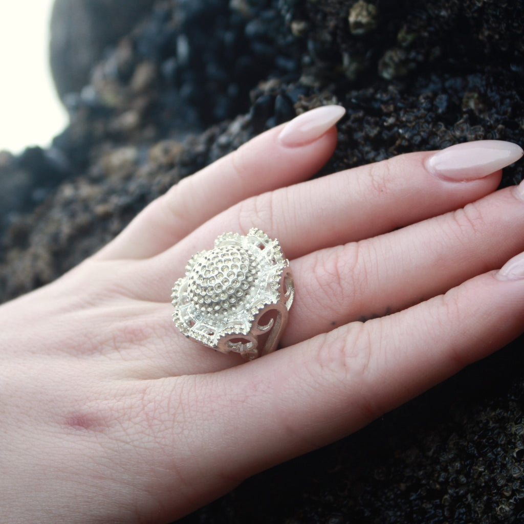 Floral Pod Ring (Plain) SALE
