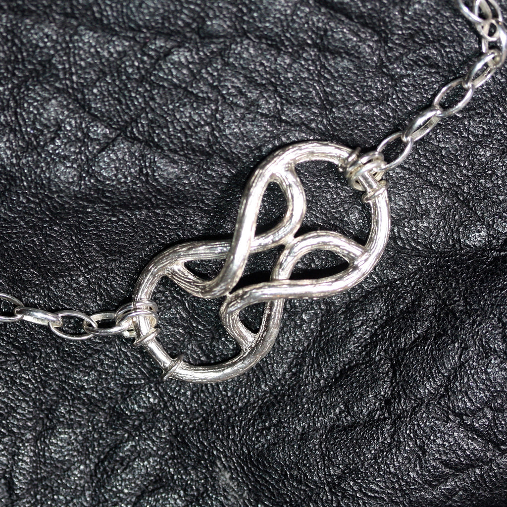 1 A A My Fine vined love knot choker  - SALE