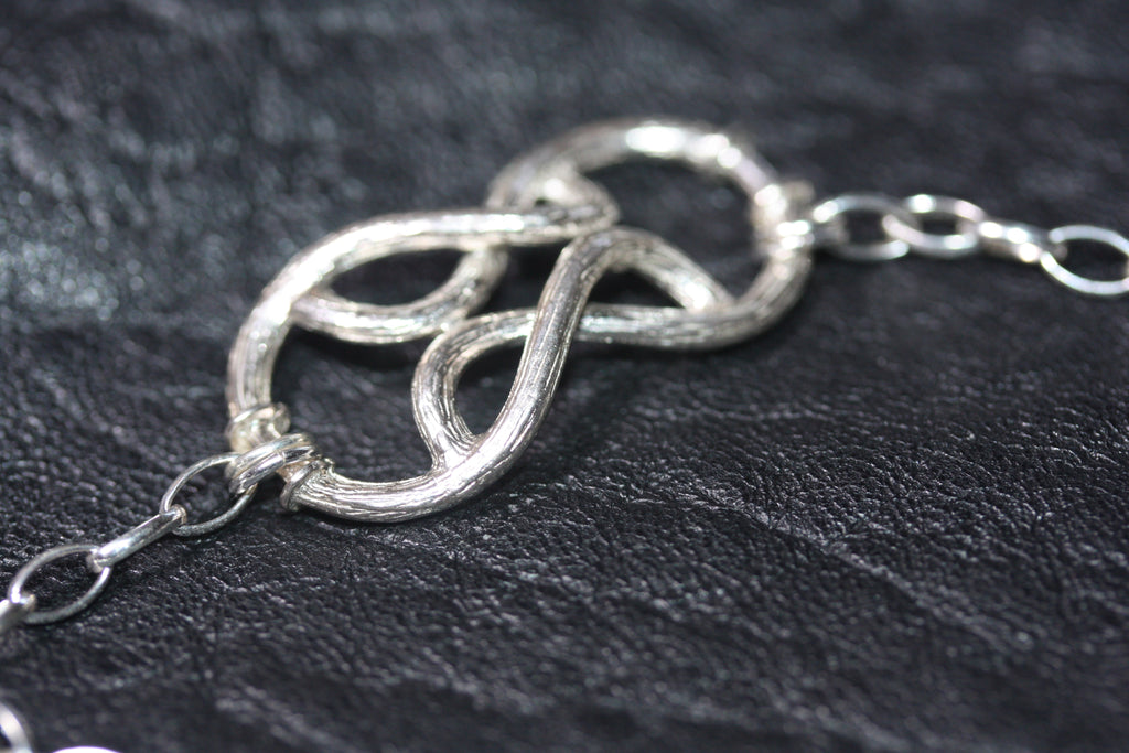 1 A A My Fine vined love knot bracelet  - SALE