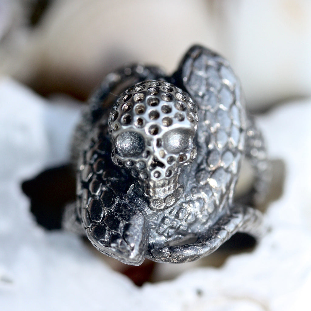 Snake Lore Bad Things Ring
