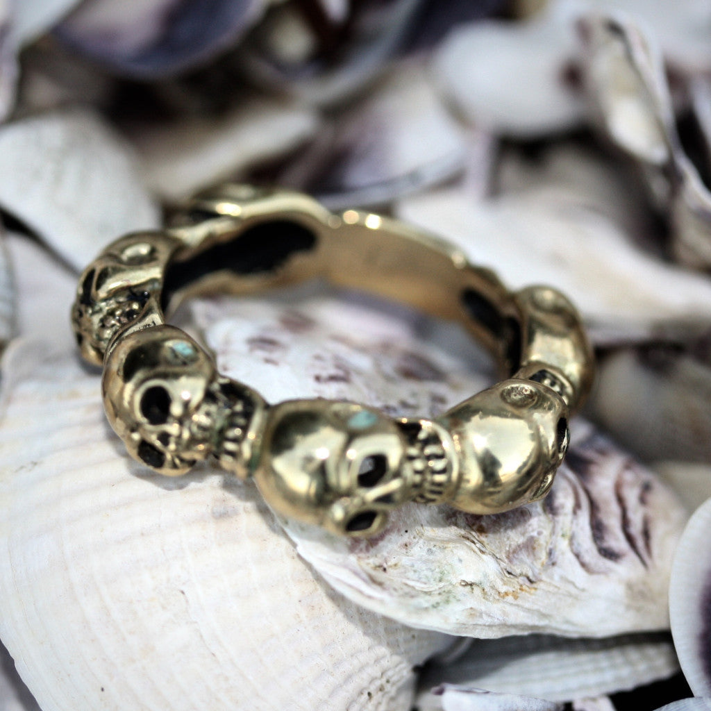 My Jumeaux Cugini Skull Stacker Ring second (SALE)