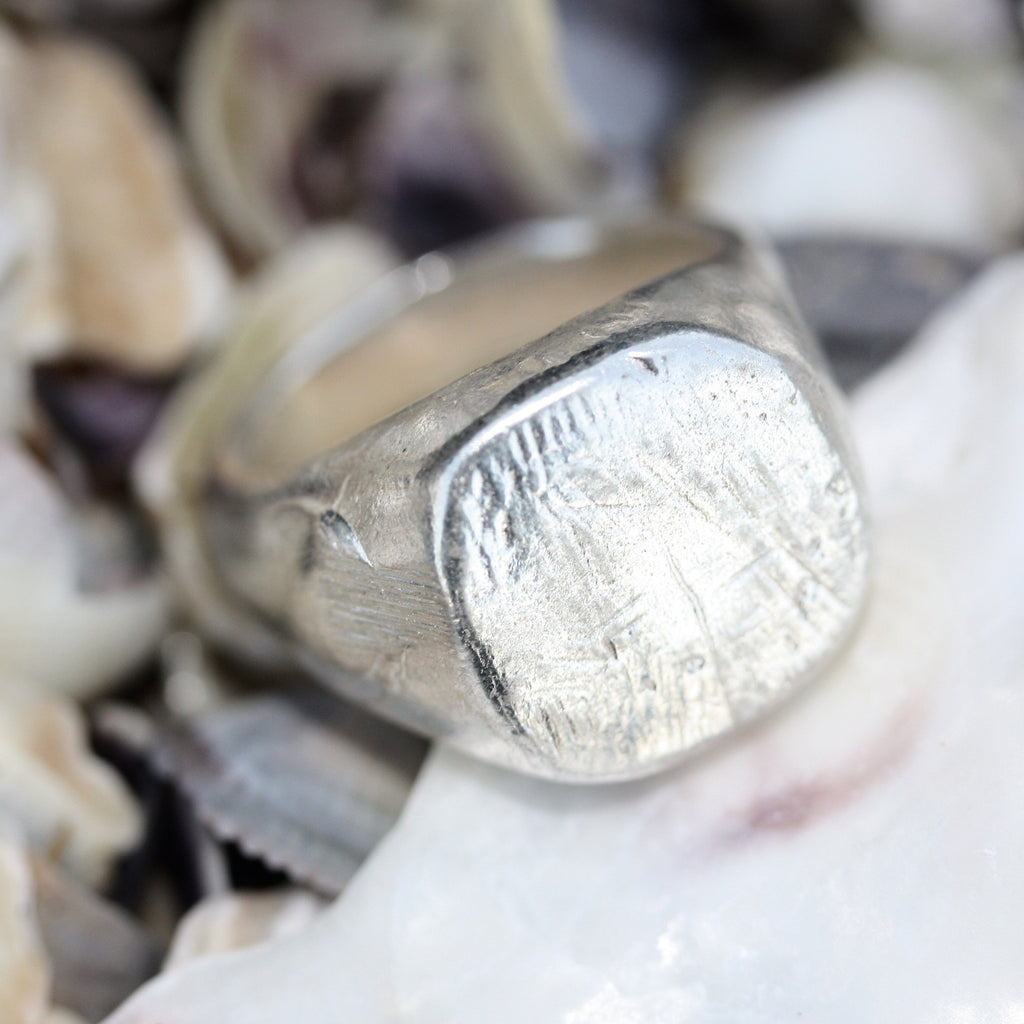 Wabi-sabi signet Ring Second (SALE)