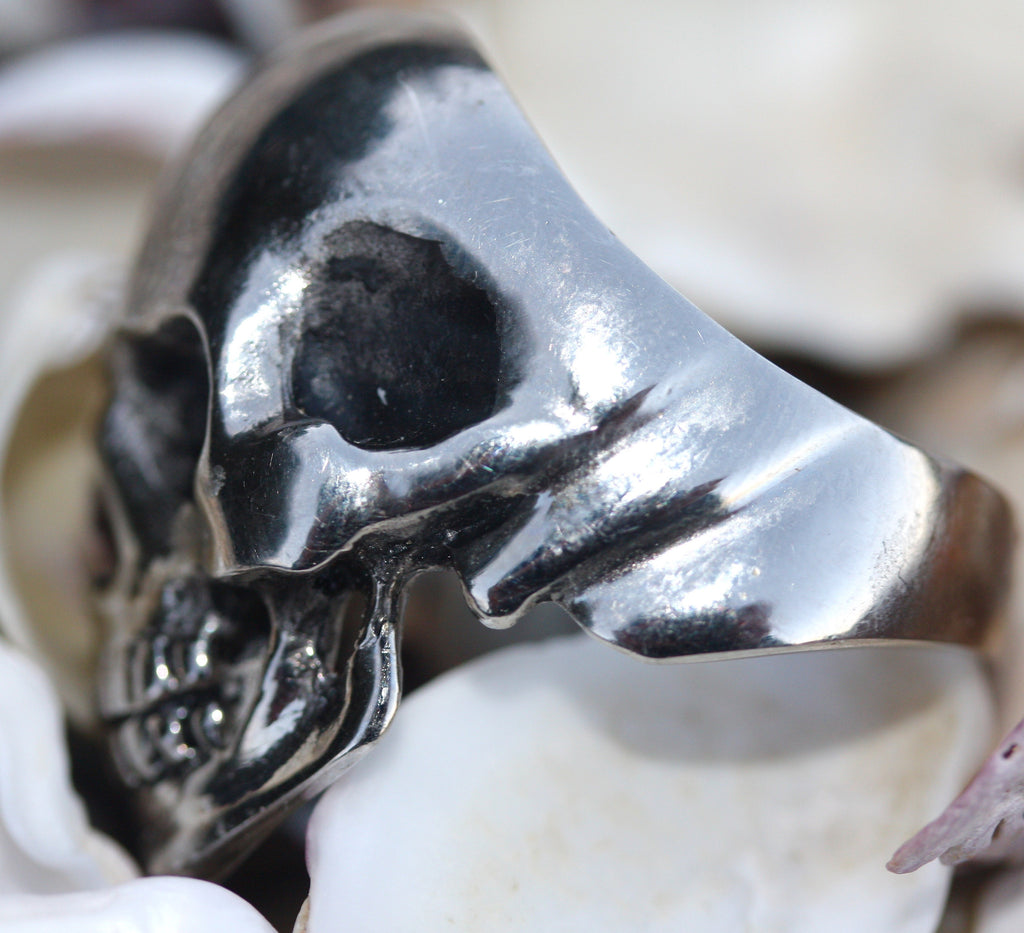 My MR BIG Hearted Skull Ring