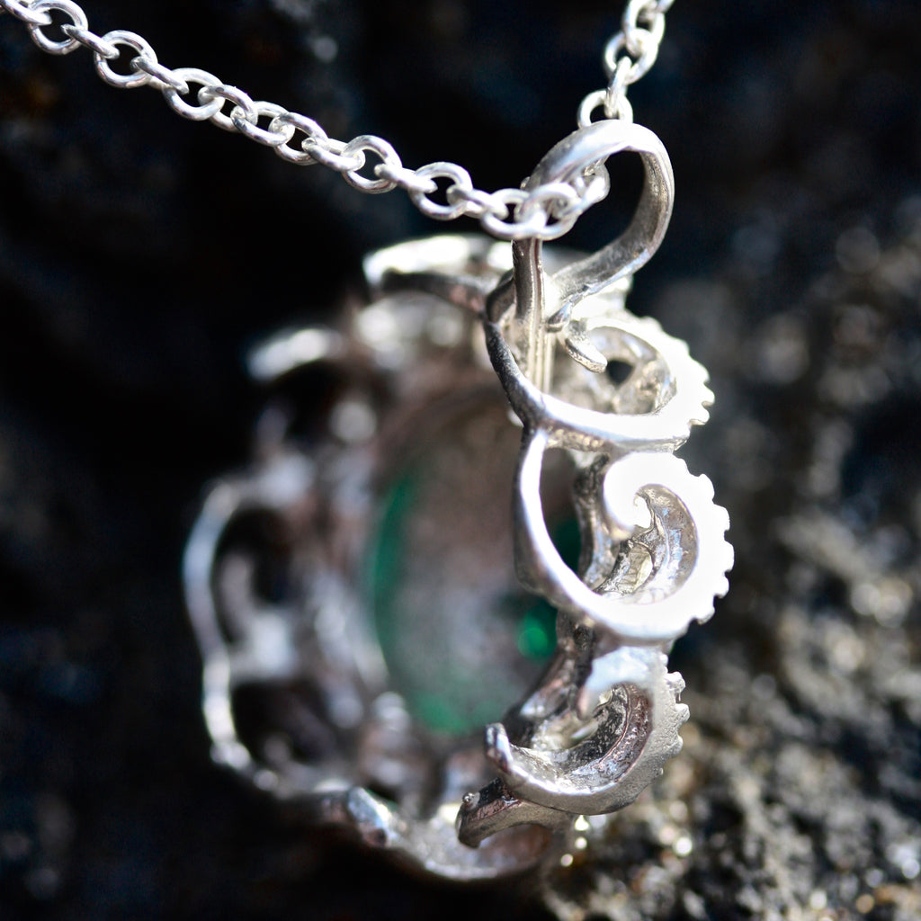 Floral Pod Necklace