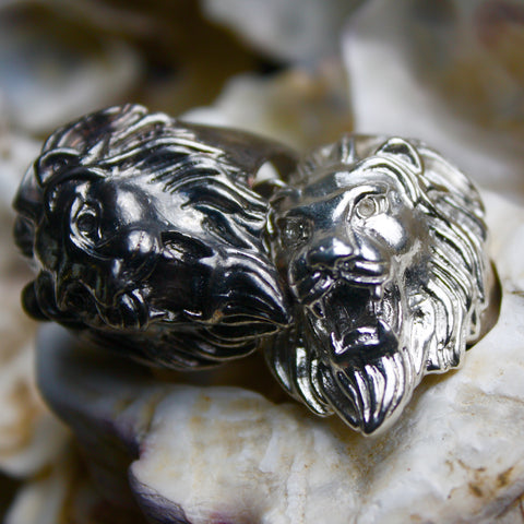 Dear Lion Heart Ring