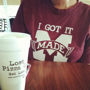 Pizza and T-shirts