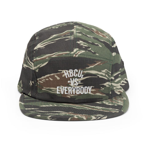 HBCUs vs Everybody 5 Panel Tiger Camo Hat