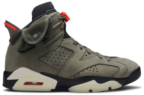 Raffle for Travis Scott x Air Jordan 6 Retro 'Olive' (Size 9.5)