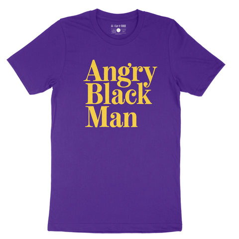 Angry Black Man Short-Sleeve Unisex T-Shirt