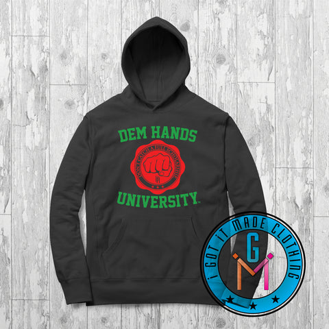 #BlackWithNoChaser Dem Hands University - Black Moses - Limited Edition Hoodie