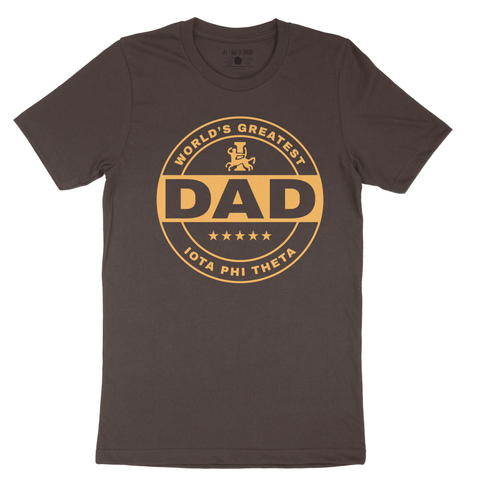 World's Greatest Iota Dad T-shirt