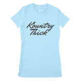 Kountry Thick Ladies' Junior Fit Tshirt