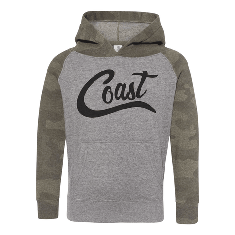 Coast Toddler Special Blend Raglan Hooded Sweatshirt