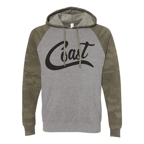 Coast Unisex Special Blend Raglan Hooded Sweatshirt