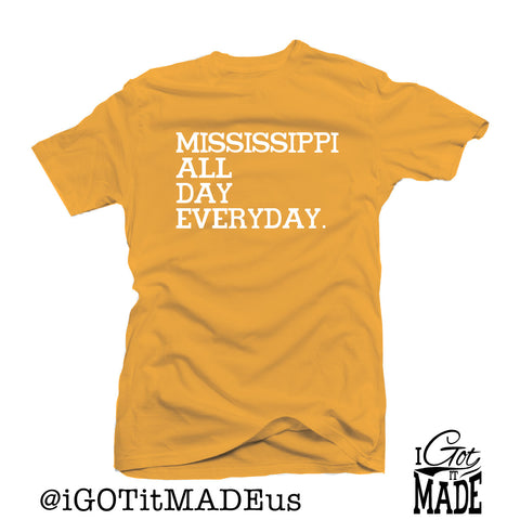 Mississippi All Day Everyday T-shirt