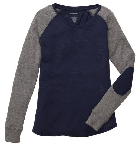 Ladies Writer's Patch Raglan