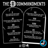 The D9 Commandments