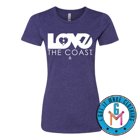 Love The Coast T-shirt LADIES