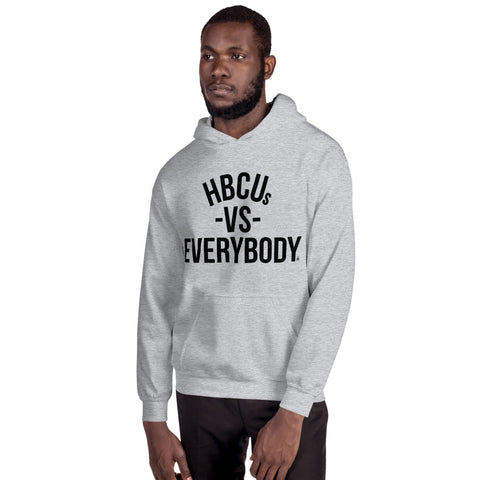 HBCUs vs Everybody Unisex Hoodie (black imprint)
