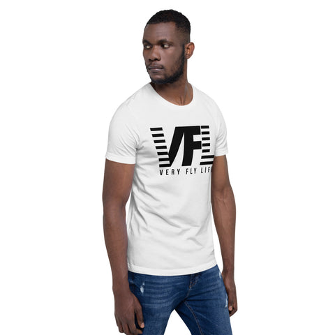 Very Fly Life Short-Sleeve Unisex T-Shirt (Black)