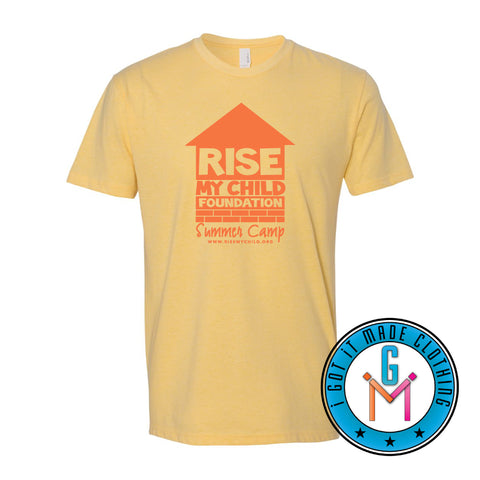 Rise My Child Summer Camp T-shirt