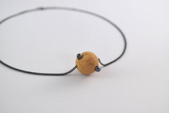 ASTEROID on Chain Short Necklace