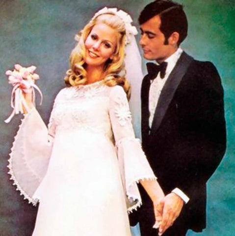 Bride and Groom in the 1970s