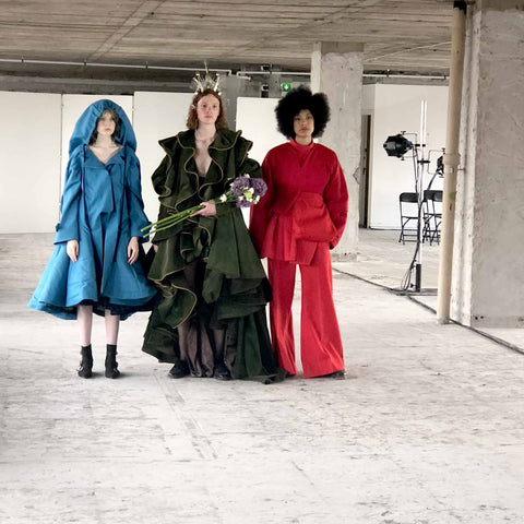 Amazing fashion designs at Glasgow School of Art