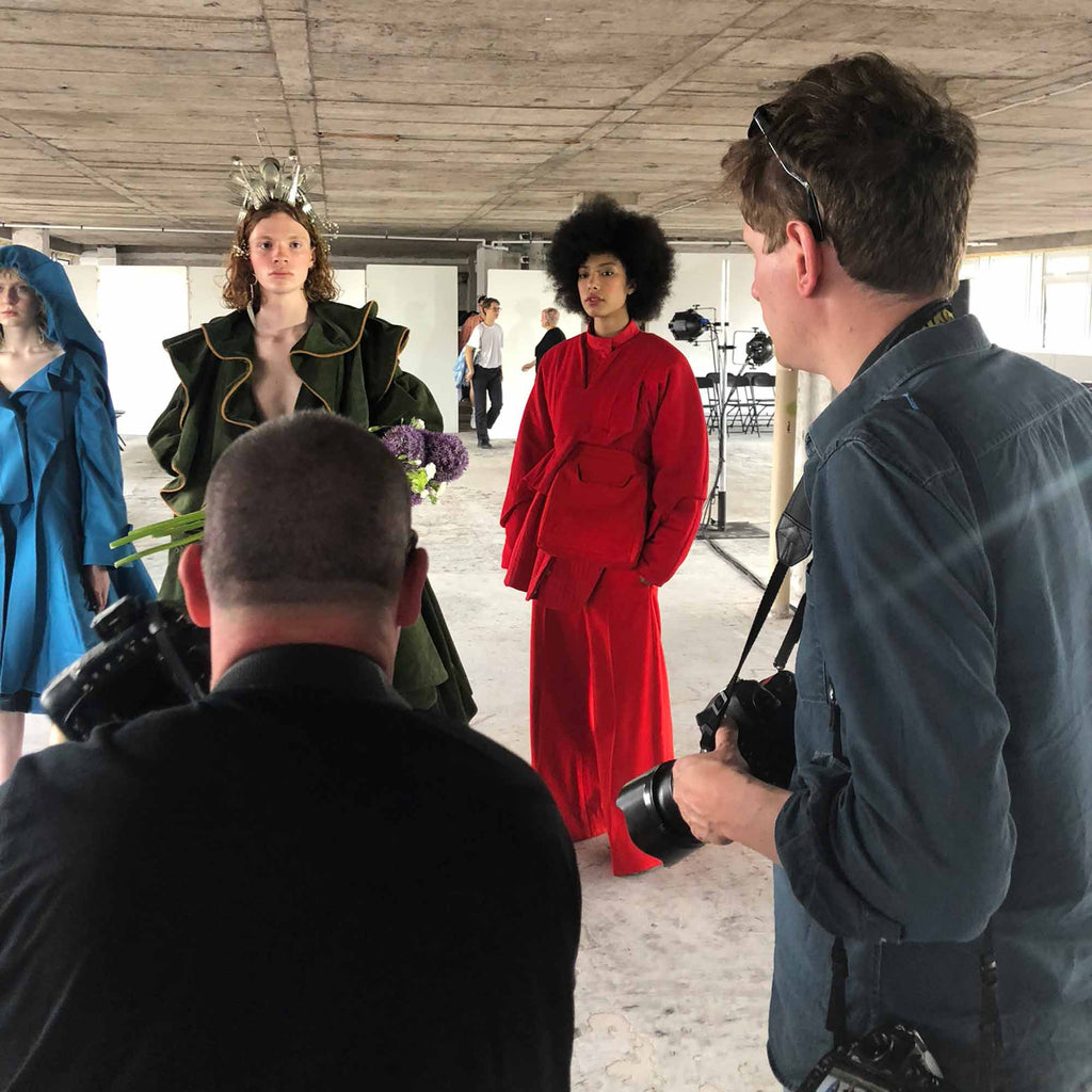 BTS at GSA Graduate Fashion Show 2018.