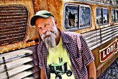 Photo of Seasick Steve from his official website
