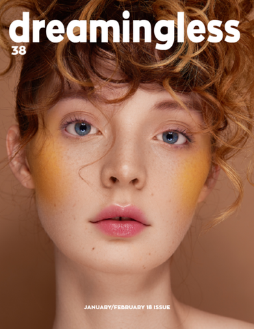 Dreamingless no 38 cover. Photo by Maja Jankowska