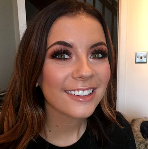 Beautiful makeup look by TAOM graduate Kirsty Suttie
